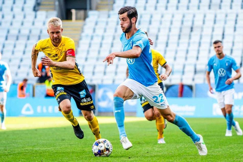 Aktuell geht Adi Nalic (23, 2.v.r.) noch für Malmö FF auf Torejagd.