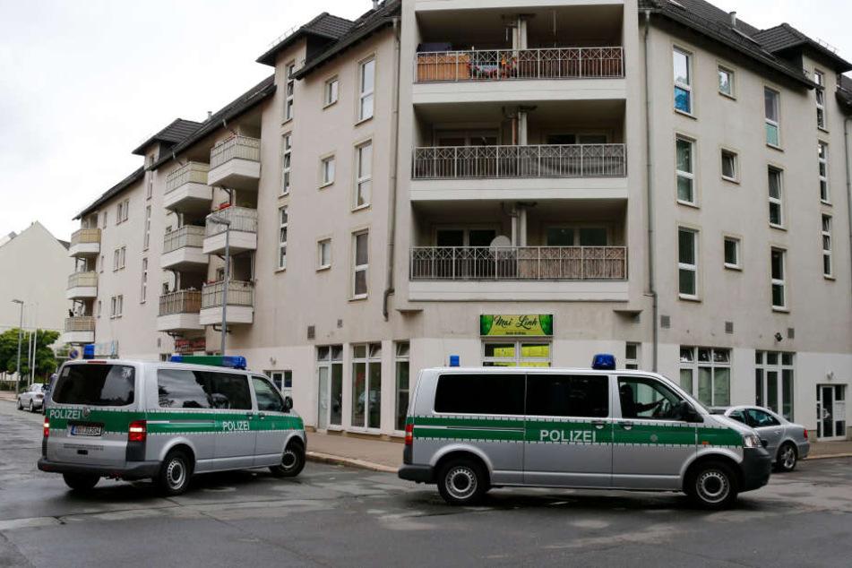 Der Vorfall passierte in der Lessingstraße.