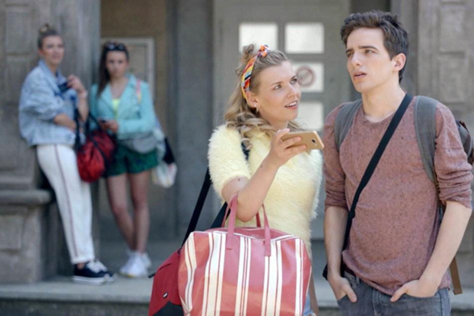 Luis gerät mit der skrupellosen Mitschülerin Brenda aneinander.