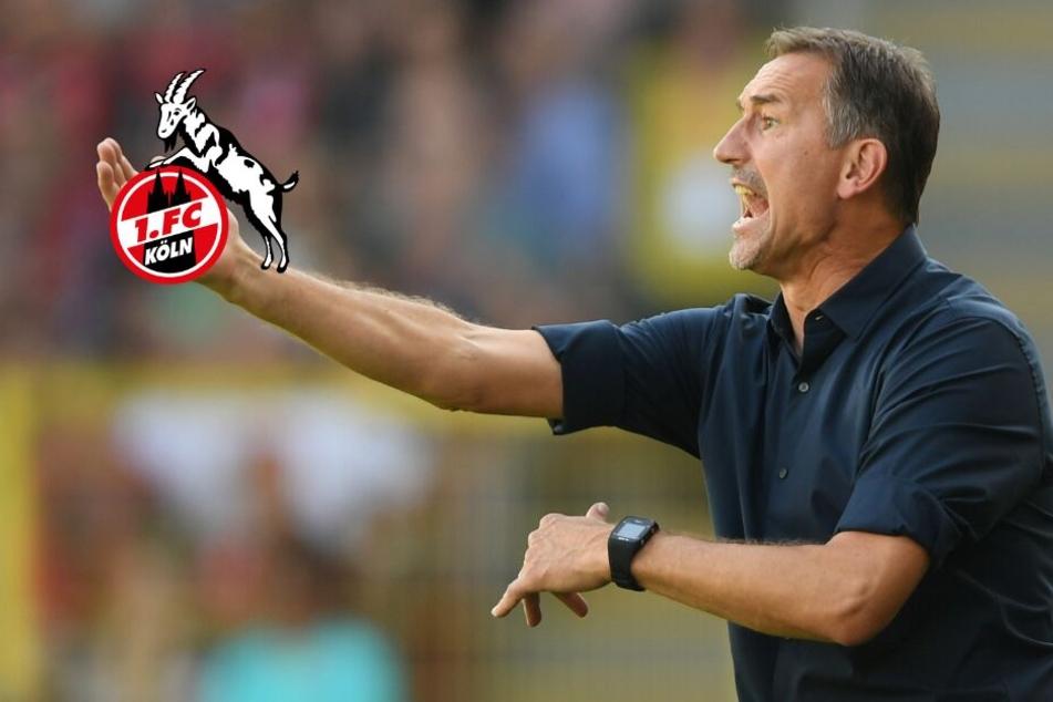 Darauf hofft FC-Coach Beierlorzer im Derby gegen Gladbach