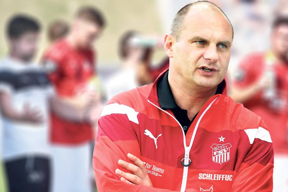 David Wagner verfällt trotz des schwachen Zwickauer Starts in die 3. Liga nicht in Panik.