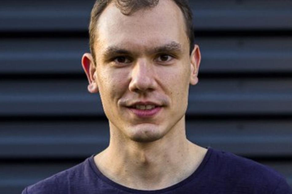 Grünen-Chef Klemens Schneider (28).