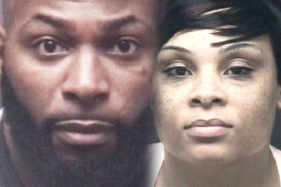 Chadwick (links) und Shameka wurden nach dem Vorfall festgenommen.