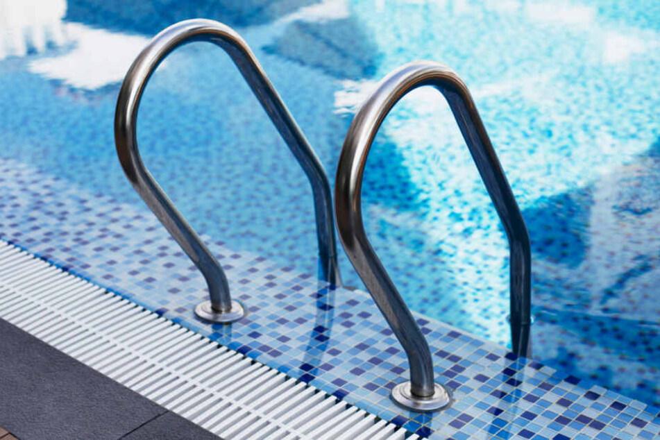 Das Reh konnte sich nicht aus eigener Kraft aus dem Pool retten. (Symbolbild)