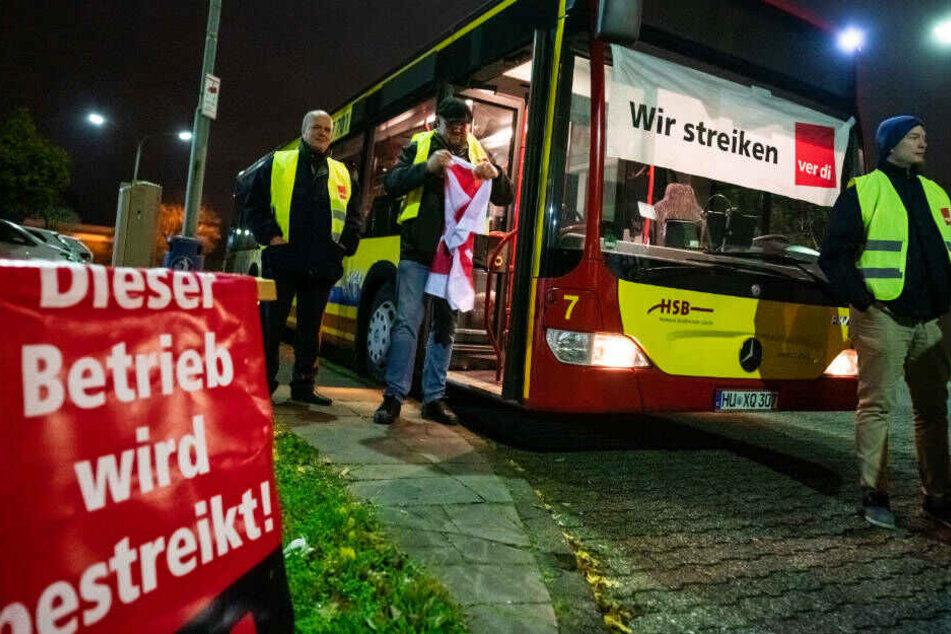 Verdi weitet Busfahrer-Streik am Donnerstag aus