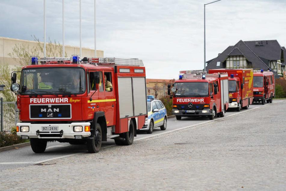 Brand im Bautzner Knast: Feuerwehr muss ausrücken