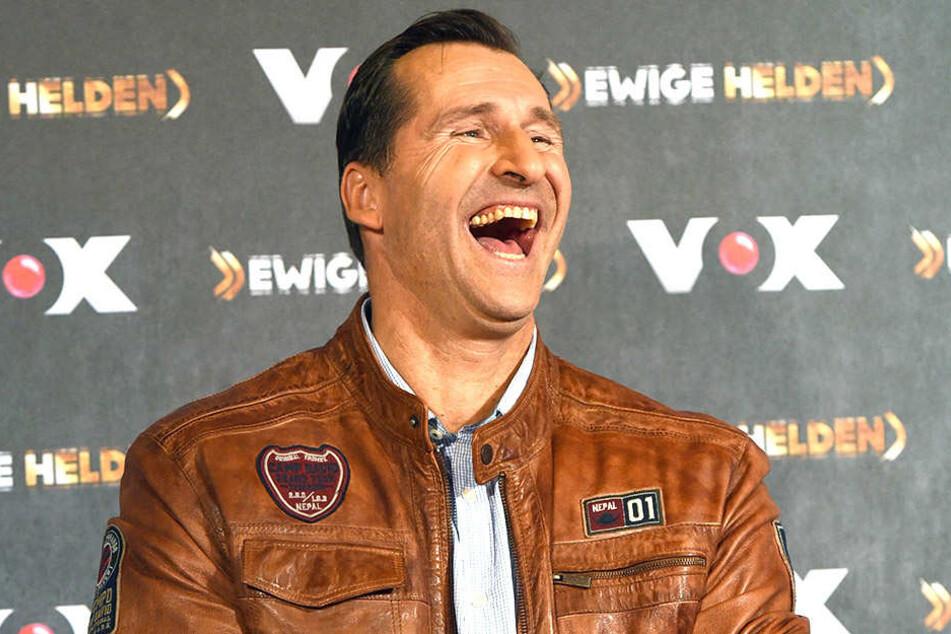 Lars Riedel (51) hat gut Lachen.