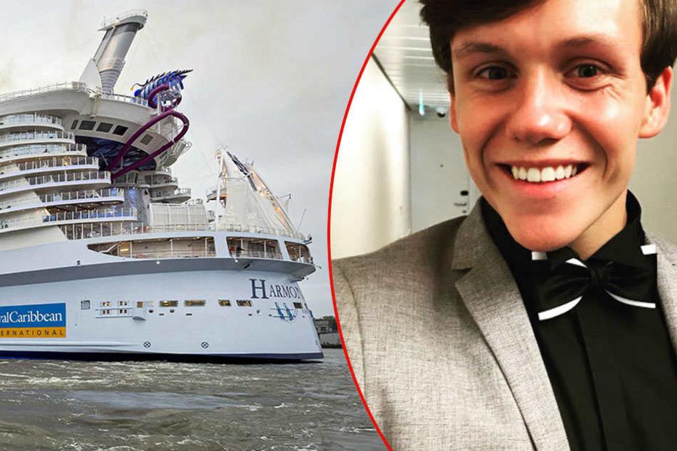 Wie Daniel Küblböck: Britischer Sänger verschwindet von Kreuzfahrtschiff