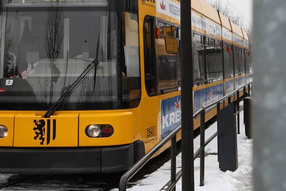 Der Vorfall geschah in einer Straßenbahn in Dresden-Prohlis (Symbolfoto).