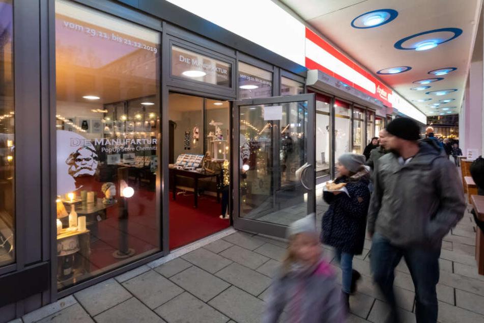 """Bis zum 21. Dezember hat """"Die Manufaktur: PopUp Store"""" im Rosenhof geöffnet."""