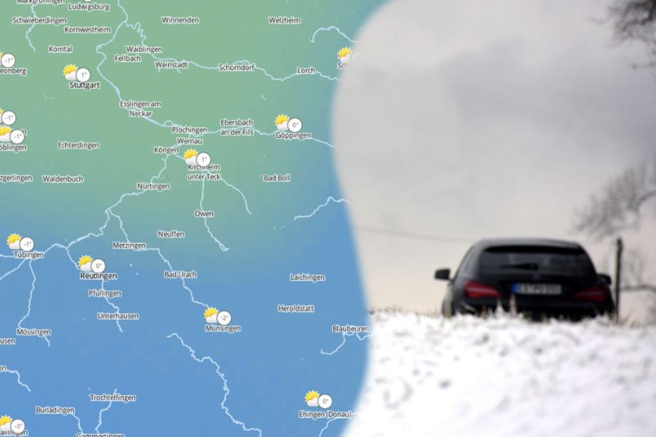 Bis zum Wochenende wird es kälter im Südwesten. (Symbolbild/Fotomontage)