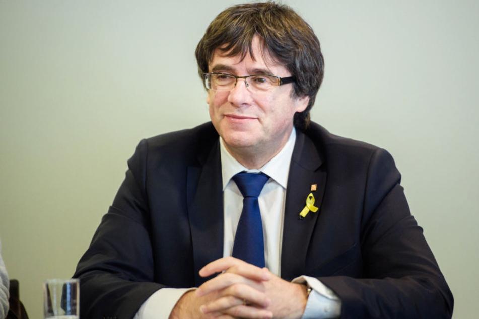 Carles Puigdemont wurde im März bei seiner Einreise nach Deutschland festgenommen und befindet sich seitdem im Lande.