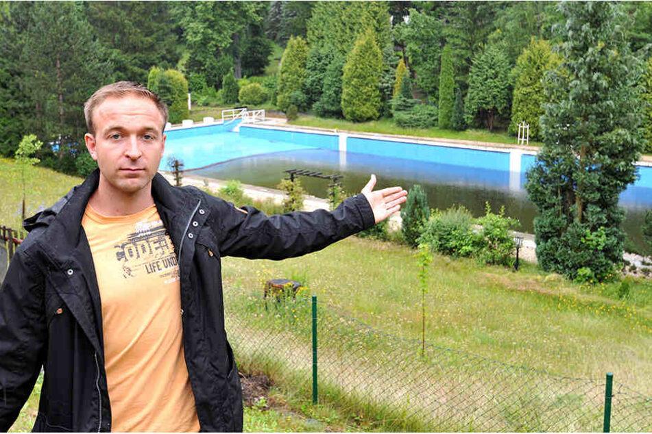 Felix Kreißel (28) vom Bürgerverein.