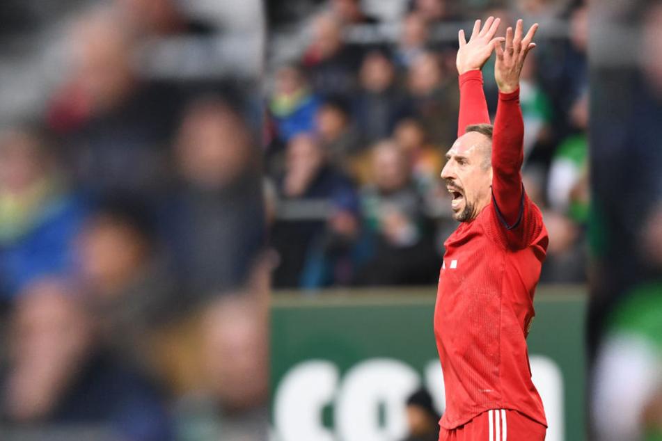 Ribéry ist wieder fit und beim Spiel gegen Leipzig dabei.