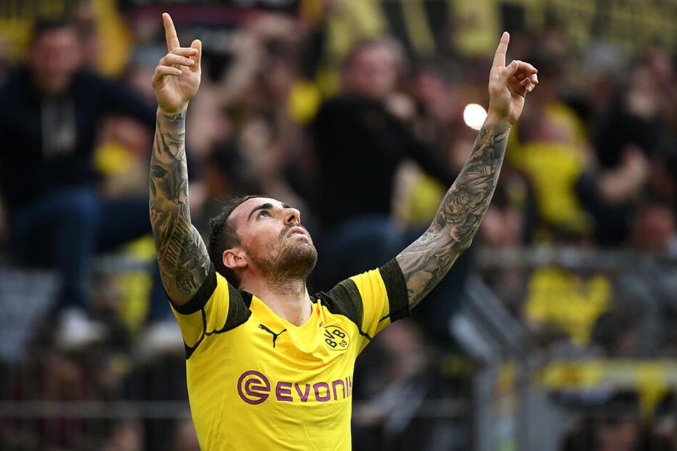 Starke 18 Tore in 26 Bundesliga-Spielen, Paco Alcacer.