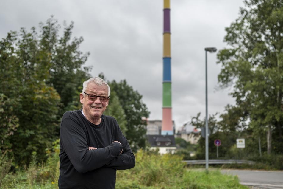 Dietmar Pilz (79) wehrt sich gegen eine mögliche Müllverbrennung im Heizkraftwerk Nord.