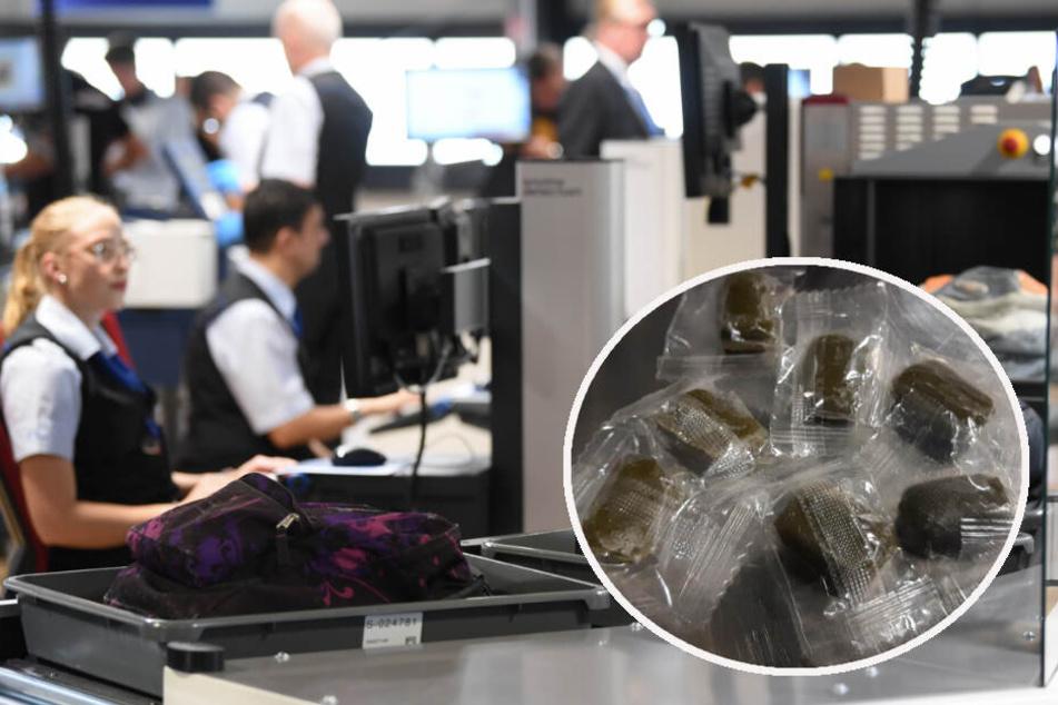 Fotomontage: Die Coca-Bonbond fallen unter das Betäubungsmittel-Gesetz, weshalb die alte Dame nun mit einer Anzeige rechnen muss.
