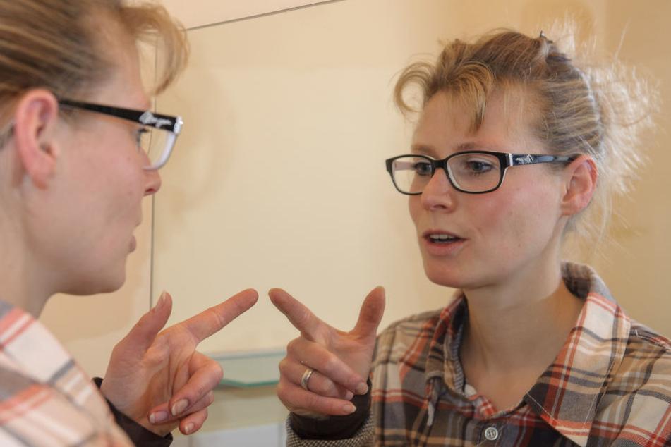 Tanja Arnold zeigt, wie man von Selbstgesprächen profitieren kann.