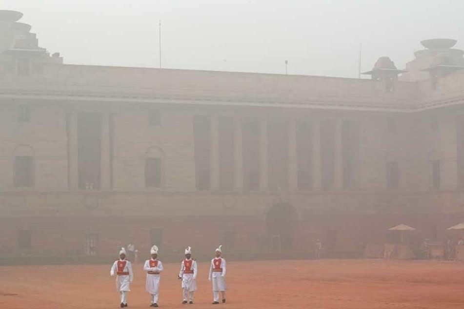 Unfassbarer Smog liegt derzeit über Neu Delhi.