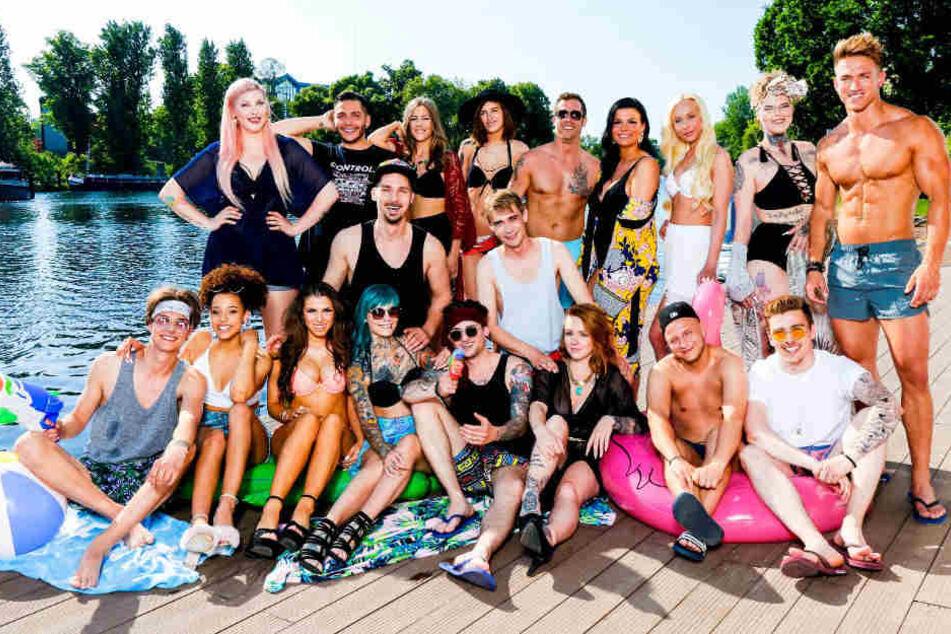 """Das Cast von """"Berlin – Tag & Nacht"""". (Stand 2018)"""