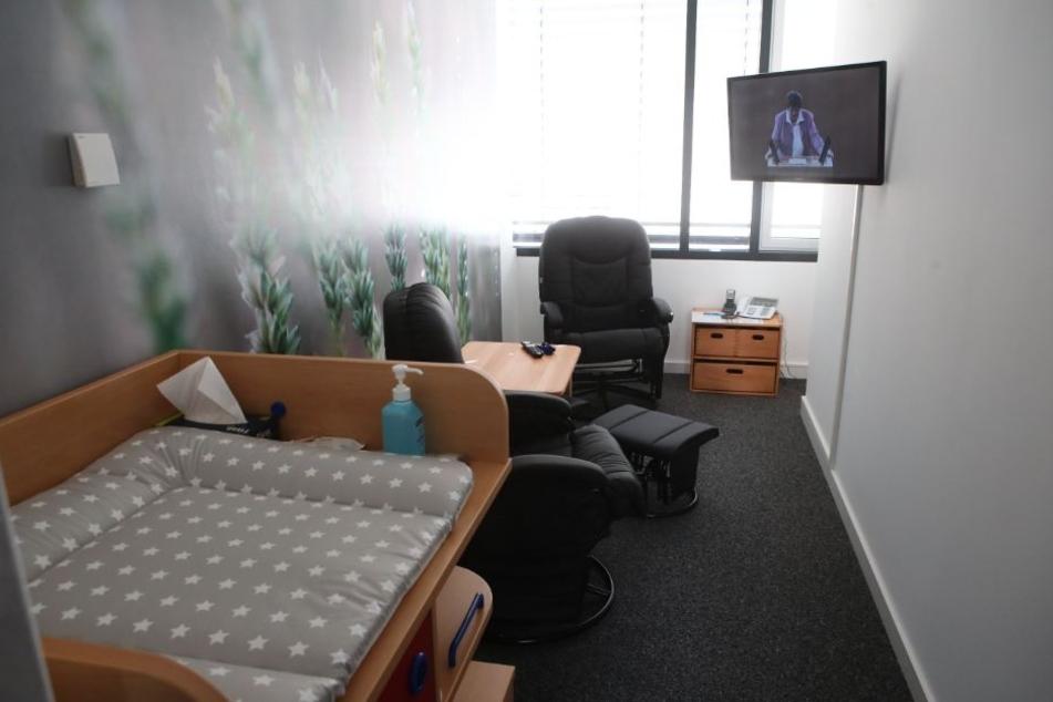 Für 12.000 Euro wurde das Stillzimmer eingerichtet.