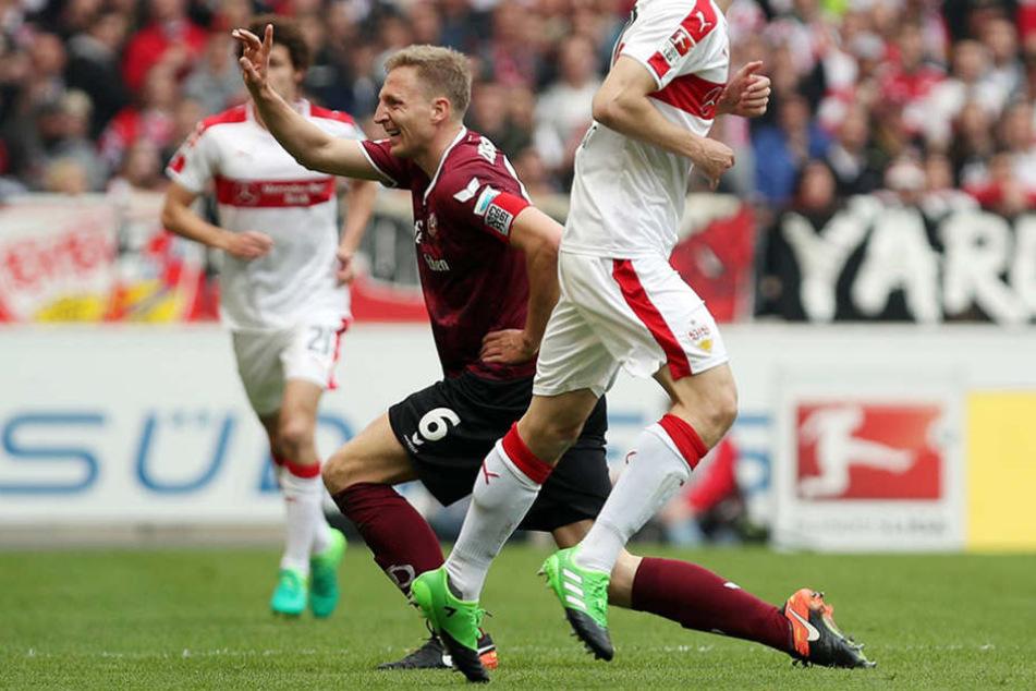 Beim Spiel gegen Stuttgart verletzte sich Marco Hartmann - seitdem fehlte er auf dem Rasen.