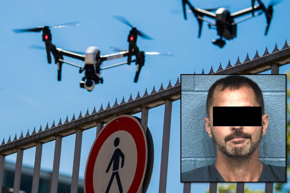 Krasser Gefängnis-Ausbruch per Drohne