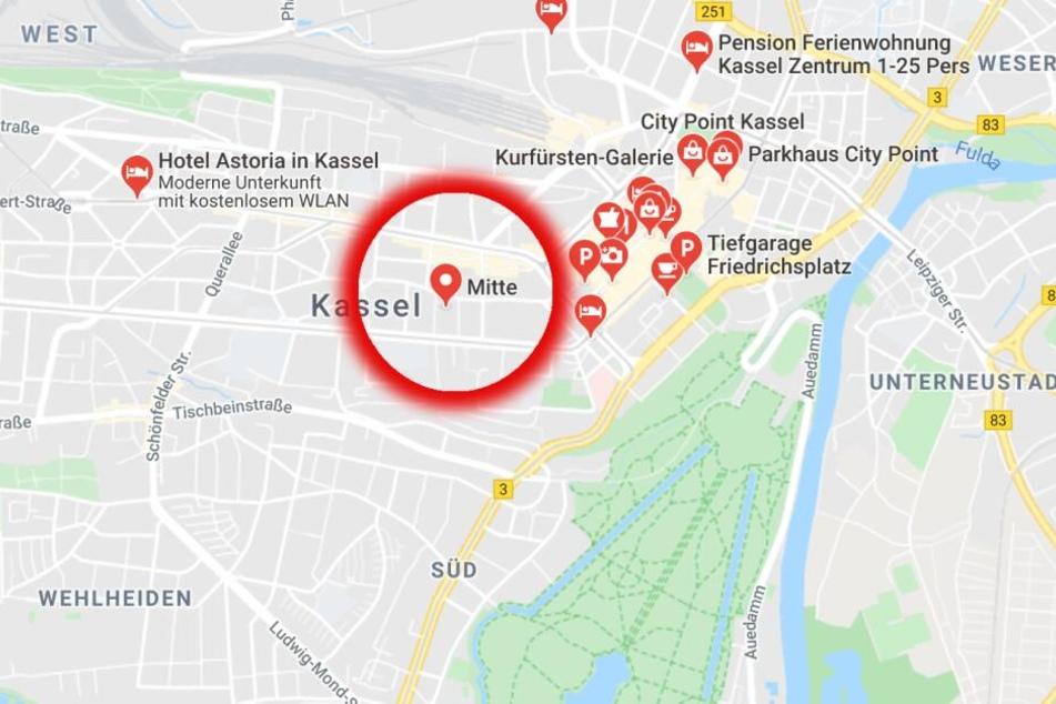 Der letzte bekannte Aufenthaltsort Amr E.s soll der Bereich rund um die Kasseler Innenstadt gewesen sein.