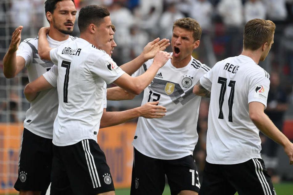 Die deutsche Nationalmannschaft will in Russland bei der WM 2018 den Titel verteidigen.
