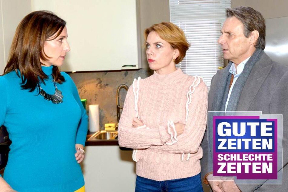 GZSZ: Tränenausbruch bei GZSZ: Geht Yvonne bei Johanna zu weit?