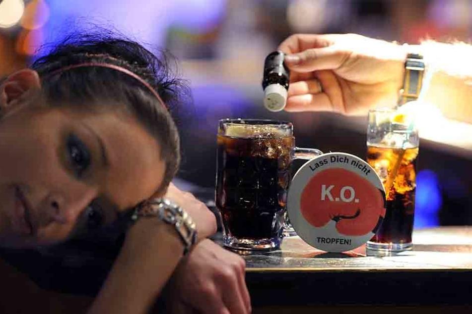 """Die Kampagne """"Lass Dich nicht K.O. Tropfen!"""" informiert über die gefährliche Droge. (Symbolbild)"""