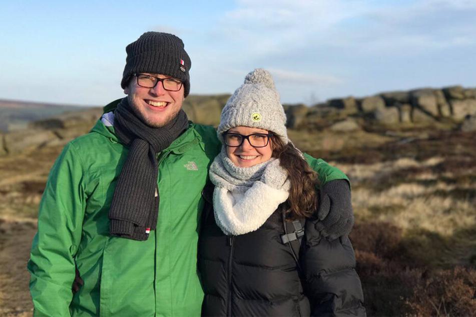 Scott Turner-Smith und Jo Turner auf einem gemeinsamen Ausflug.