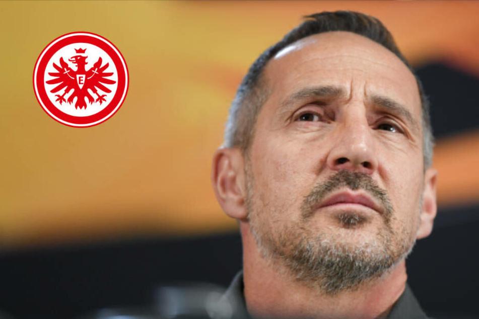 """Verunsicherte Eintracht? Adi Hütter will 4:1 einfach """"über die Runden bringen"""""""
