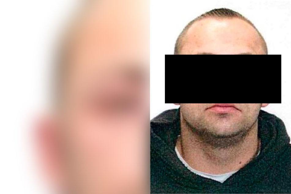 Er stellte sich nach der öffentlichen Großfahndung: der Tatverdächtige Robert G. (31) aus Niederwiesa.