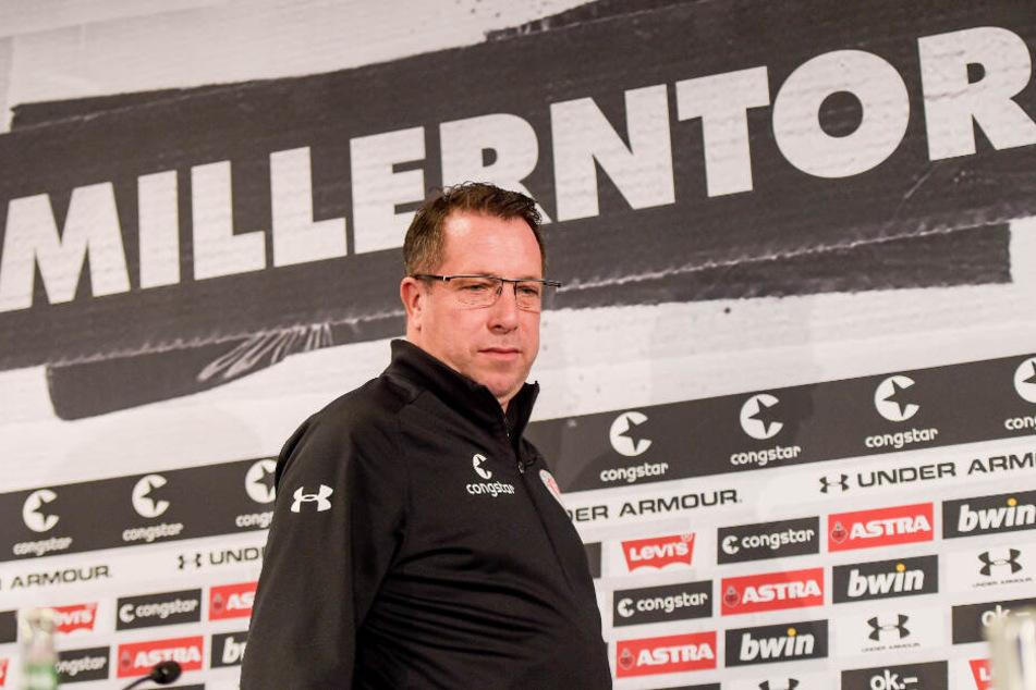 Markus Kauczinski trainiert den FC St. Pauli.