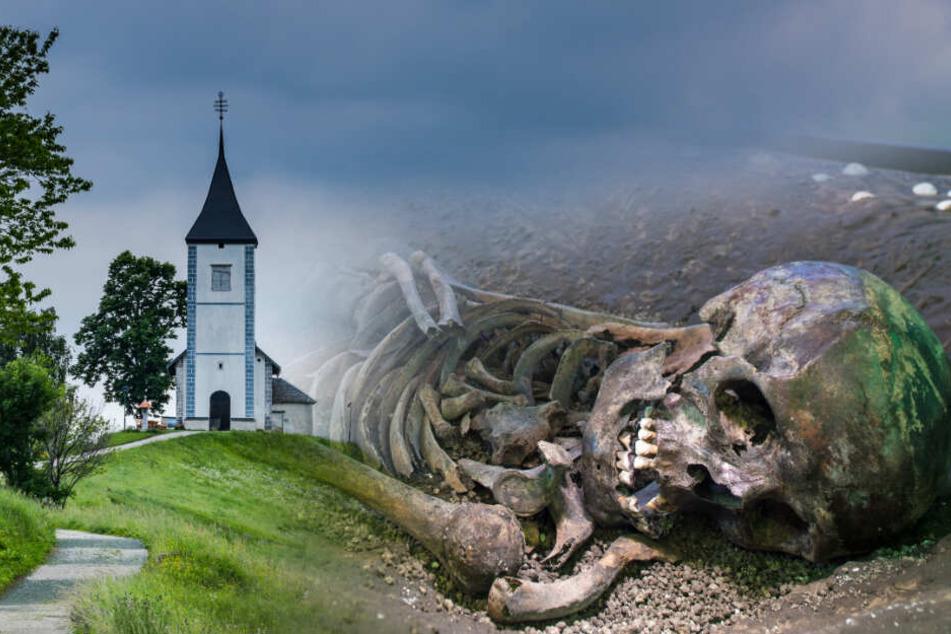 Skelett-Teile an Kirche entdeckt! Kann eine DNA-Analyse Gewissheit bringen?