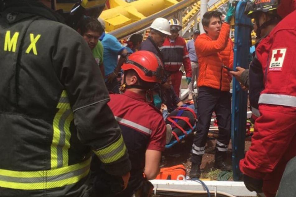 Tödlicher Achterbahn-Unfall: Waggon löst sich und stürzt 10 Meter in die Tiefe
