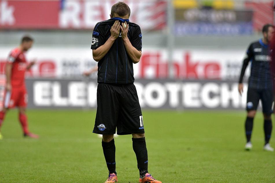 Auch der Treffer von Zlatko Dedic änderte nichts an der Niederlage gegen Fortuna Düsseldorf.