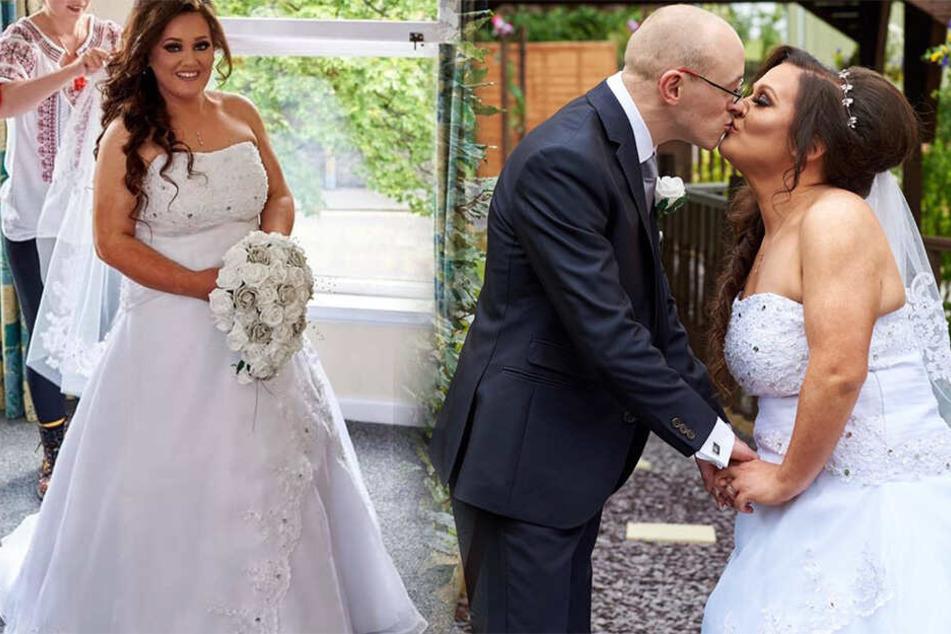 Alles neu: Chelsey Goold verwandelte sich komplett für ihre Hochzeit.