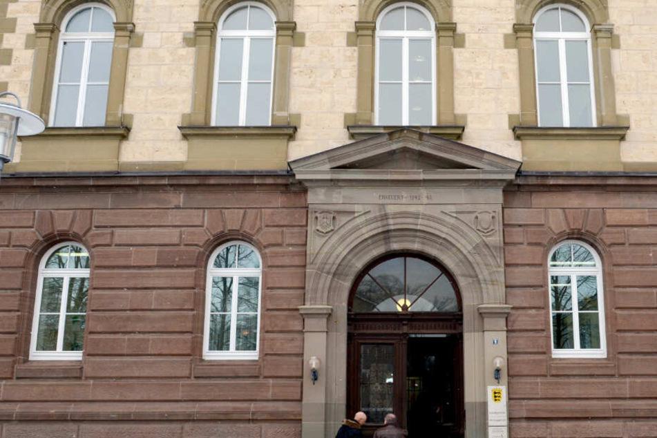 Das Landgericht im baden-württembergischen Hechingen.