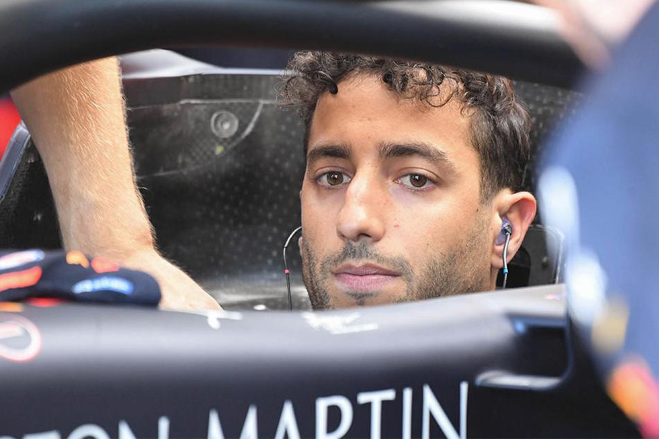 Daniel Ricciardo fiel in Austin erneut aus.