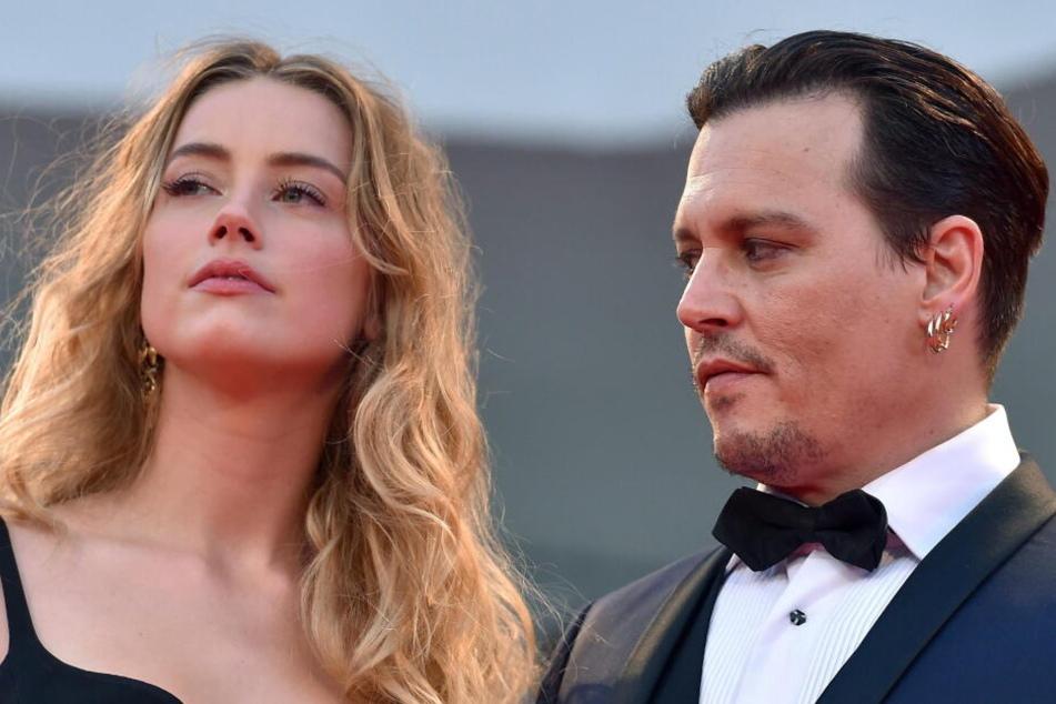 Amber Heard und Johnny Depp waren zwei Jahre verheiratet.