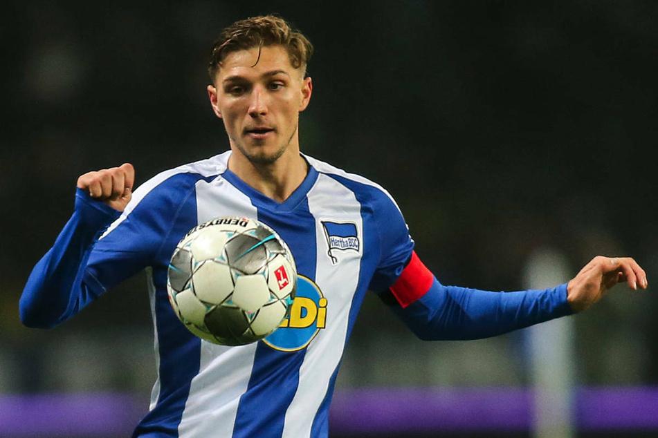 Hertha-Kapitän Niklas Stark (25) bedankte sich via Videobotschaft bei den Fans für die Unterstützung.