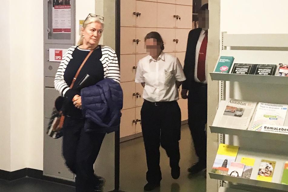 Barbara Lässig (63) musste gegen ihren Willen die Räume der SPD-Fraktion im Rathaus verlassen.
