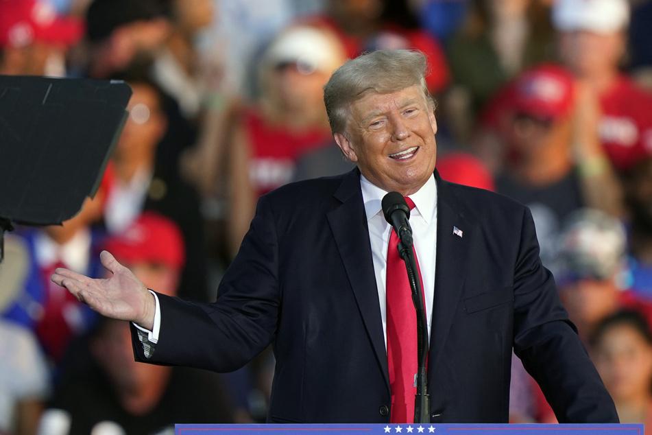 Ex-Präsident Donald Trump (75) verurteilt die Angriffe auf das US-Kapitol nicht, sondern redet sie schön. (Archivbild)