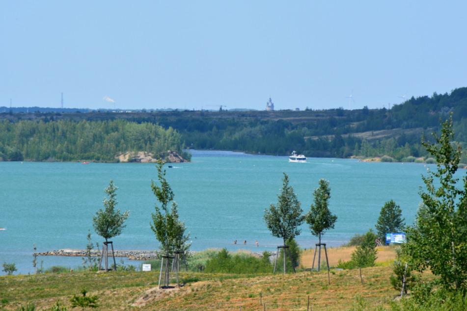 Der Störmthaler See (Bild) ist bereits mit dem Markkleeberger See verbunden.