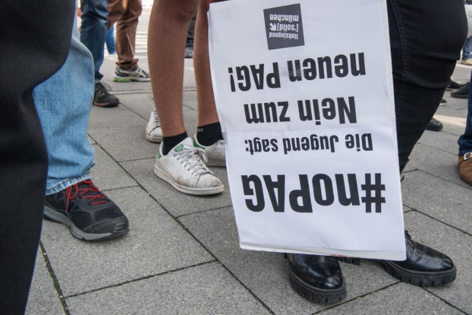 In München ist eine Demo mit 5000 angemeldeten Menschen gegen das PAG geplant. (Archiv)