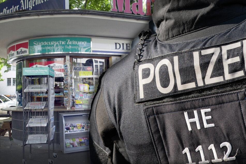 Am Montagabend musste die Polizei an einem Kiosk in Frankfurt am Main wegen eines mutmaßlichen versuchten Tötungsdeliktes einschreiten. (Symbolfoto)