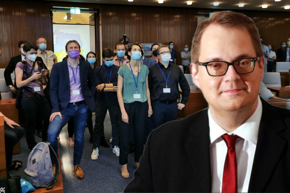 Spannender Wahlsonntag: Linke-Politiker Sören Pellmann verteidigt in Leipzig sein Direktmandat
