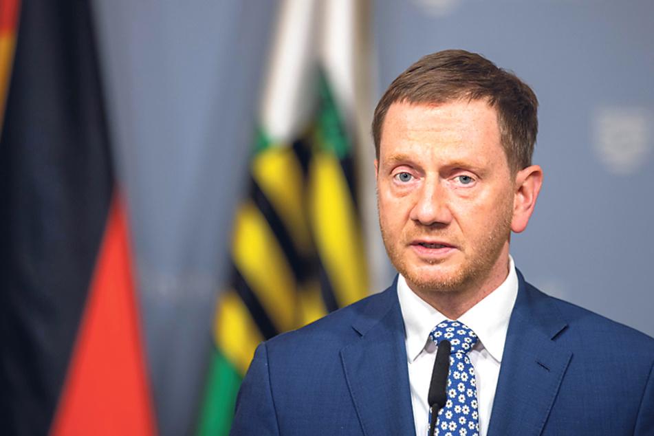 Sachsens Ministerpräsident Michael Kretschmer (46, CDU).